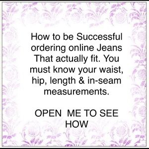 Denim - JEANS = Helpful tips for buying jeans online